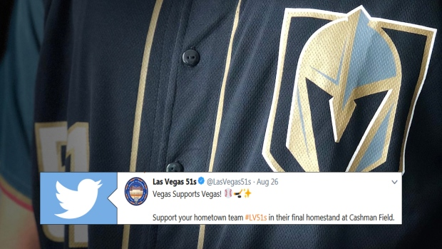 new style 4ba57 d2987 Las Vegas 51s will rock Golden Knights themed uniforms to ...