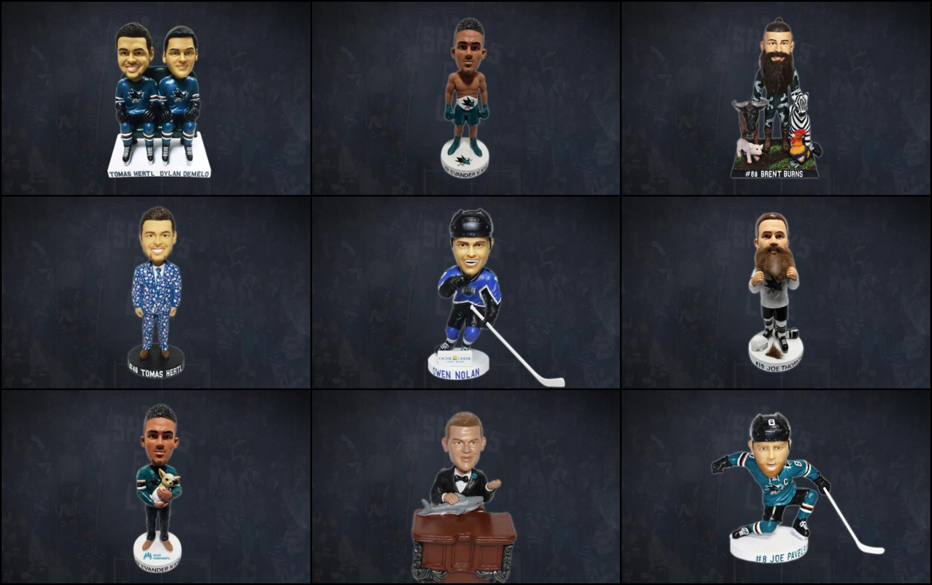 best website a0087 9f9c8 The San Jose Sharks have some incredible giveaways planned ...