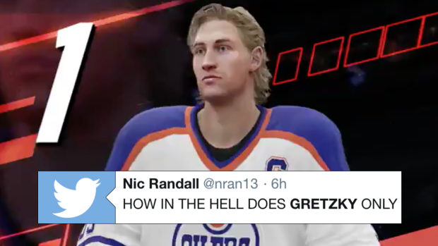 EA Sports revealed Wayne Gretzky's rating in NHL 19 and fans