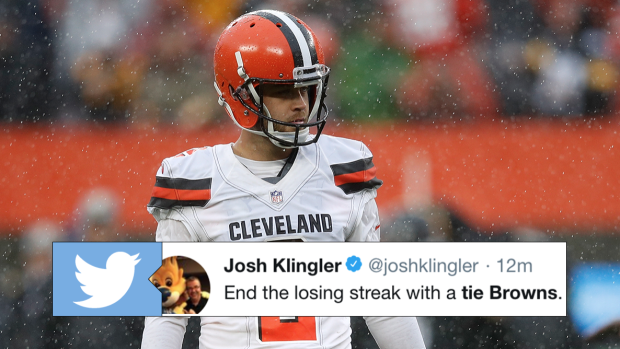 The Browns End Their Losing Streak In The Most Browns Way