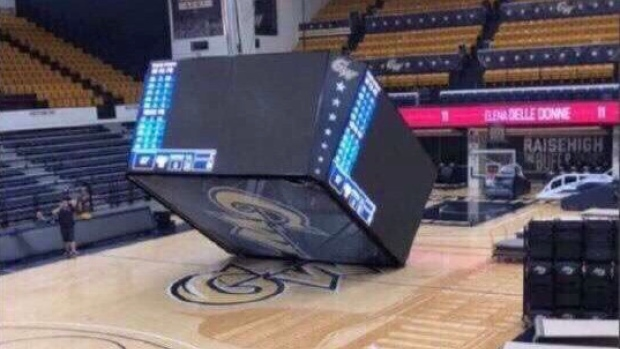 Our Worst Nightmare Became Reality Today When A Jumbotron Came Crashing Down Article Bardown