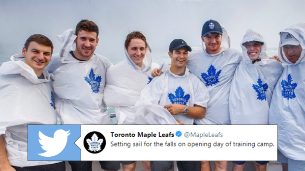 Mitch Marner And A Group Of Young Leafs Were Looking Extra Young During Trip To Niagara Falls Article Bardown