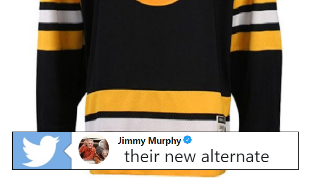 online retailer e1720 60fb2 The Bruins might bring back a retro jersey as their ...