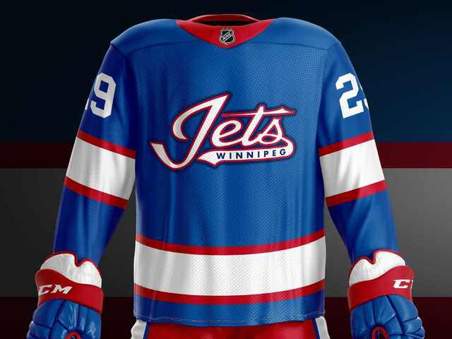 e3351902fbd A hockey fan made a simple colour change to Jets' third jersey and ...