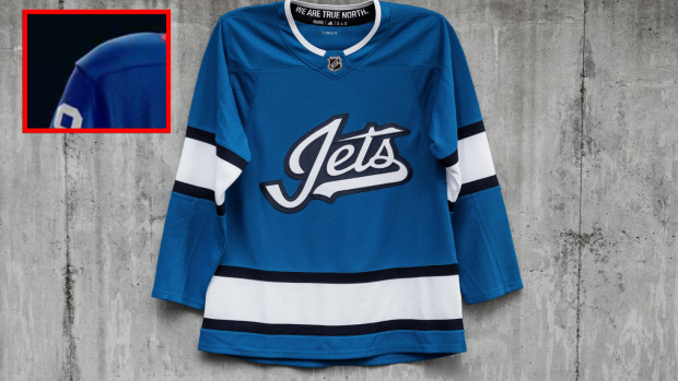 best authentic 93ab6 03ff0 A hockey fan made a simple colour change to Jets' third ...