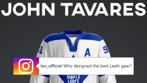 sale retailer a47bf cc725 John Tavares and other Leafs designed their own Leafs ...