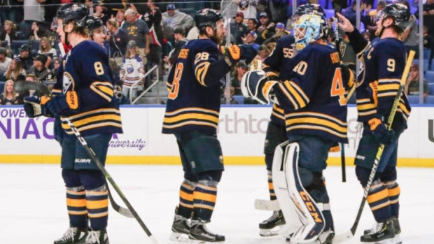 The Buffalo Sabres (2-1) Are Over .500 For The First Time In A Very, Very Long Time