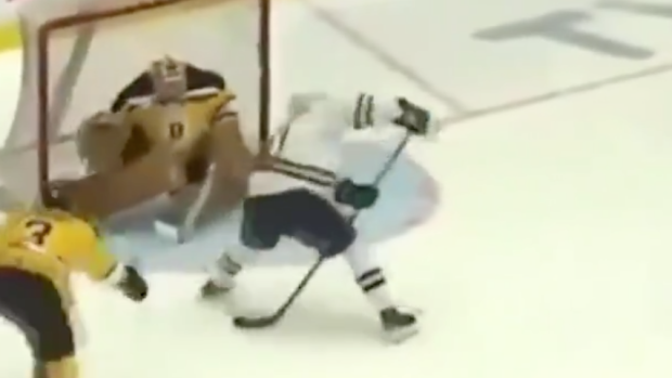 Projected 2020 first-overall pick Alexis Lafreniere scored a nasty top shelf between-the-legs goal - Article - BARDOWN