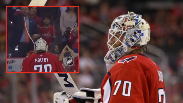 Similar To Brett Connolly Last Year Holtby Struggles To Get A Young Fan A Puck Article Bardown