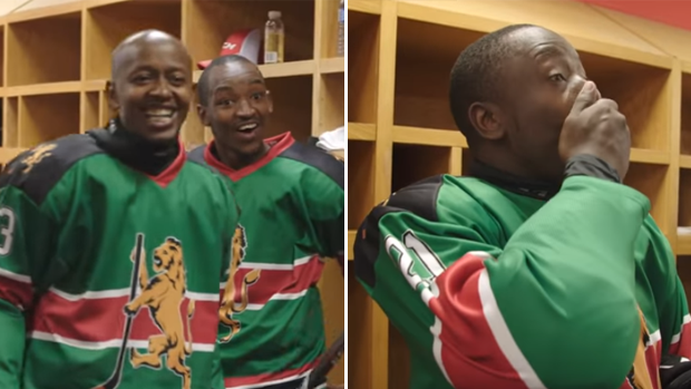 Two NHL superstars surprised the only Kenyan hockey team ...