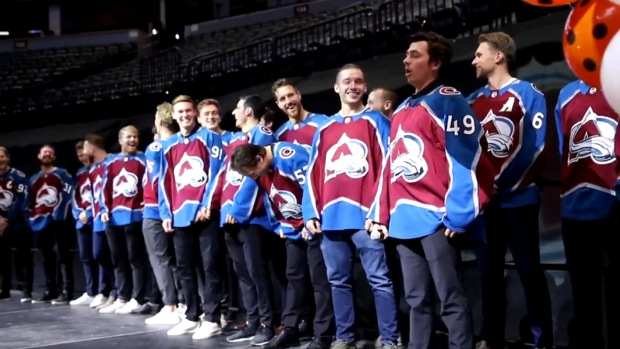 "Com Continuous News Colorado >> Sam Girard crushed his rendition of ""Ave Maria"" and his Avs teammates loved it - Article - Bardown"