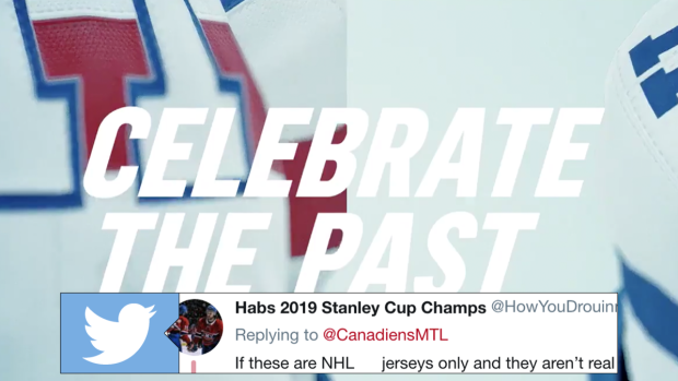 dcda352bab4 The Montreal Canadiens teased a new jersey with one potentially unfortunate  detail - Article - Bardown