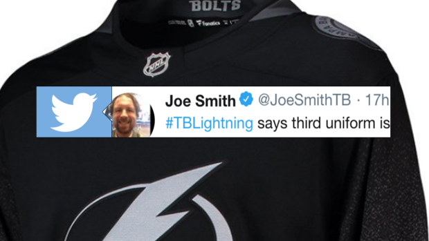 Lightning fans will actually be happy with what their team said in response  to leaked third jersey - Article - Bardown 9dd7dd4d5ab