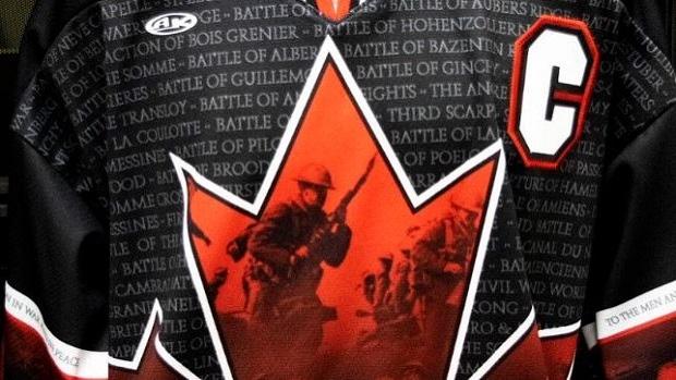 Brampton Beast reveal spectacular Remembrance Day themed jerseys - Article  - Bardown cbe0fbbc965