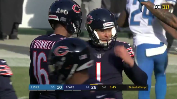 Bears Kicker Cody Parkey Somehow Doinked Four Misses Off The
