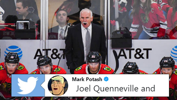 371b2ae4955 Blackhawks fans will be furious after seeing this stat involving Joel  Quenneville - Article - Bardown