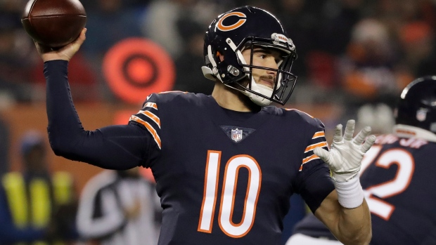 Mitch Trubisky Showed Up With A Glowing Chicago Bears Ugly