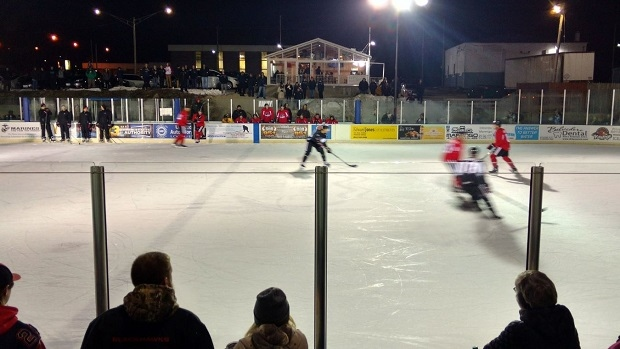 AHL: The Rockford IceHogs Took Their Practice Outdoors And It Looked Spectacular