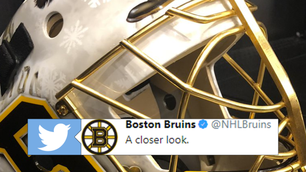 d34f9b6b3 Tuukka Rask fully embraced the Fighting Irish with his Winter ...