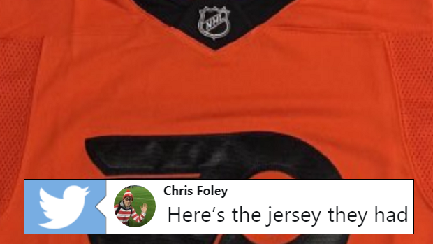watch 631e9 29246 Hockey Fans are ripping the Flyers' Stadium Series jerseys ...