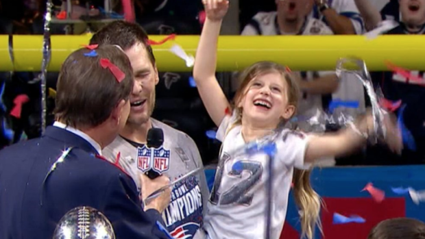 Tom Brady shared a wonderful moment with his daughter, family after