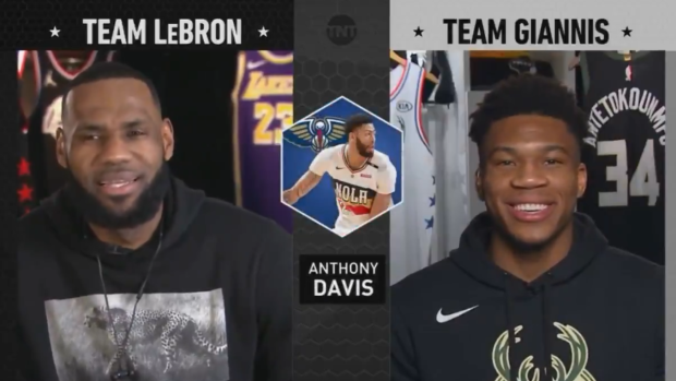 fd6aab49ad9a Giannis Antetokounmpo accused LeBron James of tampering in the middle of  the All-Star draft - Article - Bardown