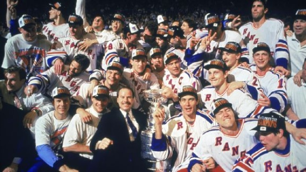 The New York Rangers are giving away replica versions of their 1994 ... 7ae135414