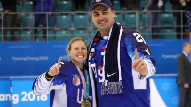 Kendall Coyne Schofield and Michael Schofield