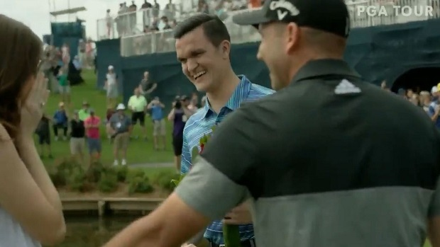 Sergio Garcia played a big role in a fan's marriage proposal at TPC  Sawgrass - Article - Bardown