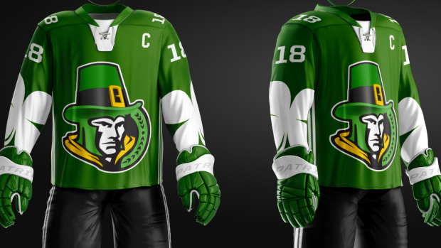 Would you rock these custom NHL St. Patrick s Day jerseys  - Article ... e61a53aea