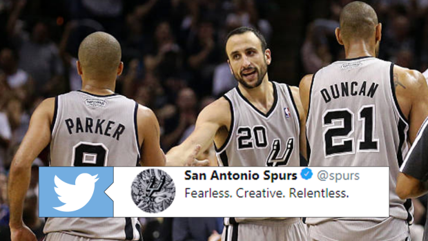 reputable site dd64c 9017c The Spurs went all out in honouring Ginobili with multiple ...