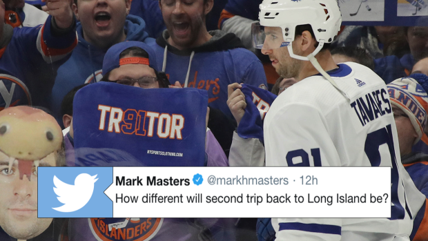 John Tavares shared what his expectations are for his ...
