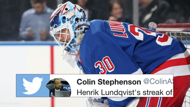 Henrik Lundqvist Is On The Verge Of An Unfortunate Career First