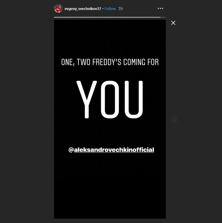 Evgeny Svechnikov sends Alex Ovechkin cryptic message after