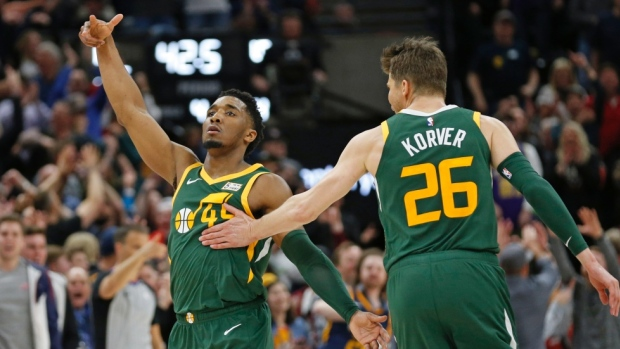 4d3a7016f97 Kyle Korver offers a moving defense of teammate Donovan Mitchell to ...