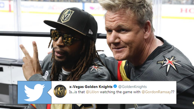 Gordon Ramsay and Lil John looked like they had a blast at