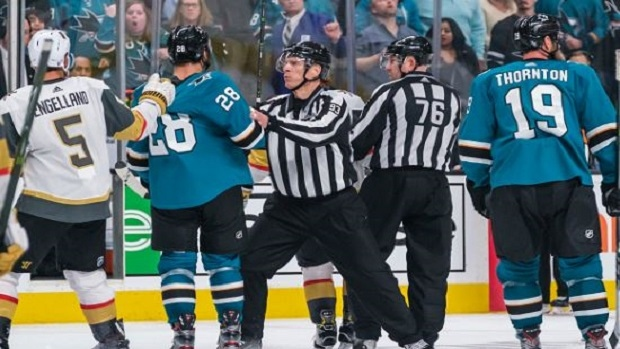 Nhl Won T Have Officials Responsible For Controversial Call In Vegas
