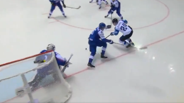 Kaapo Kakko Scores Goal Of The Tournament Candidate With Ridiculous