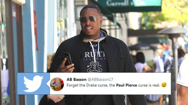 Paul Pierce is getting shredded for a tweet he made about the