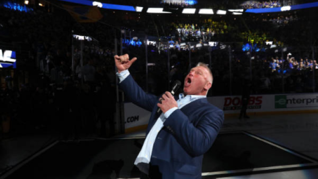 Brett Hull got Blues fans absolutely fired up ahead of Game 4 - Article - BARDOWN