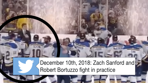 Bortuzzo Sanford Shared Awesome Moment While Pietrangelo Lifted The Stanley Cup Article Bardown