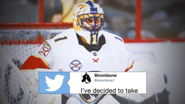 Roberto Luongo Announced His Retirement From Hockey With The Perfect