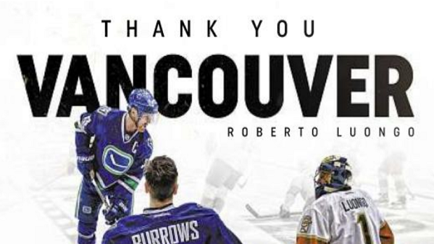 Luongo Took Out An Ad In A Vancouver Paper To Thank Canucks Fans