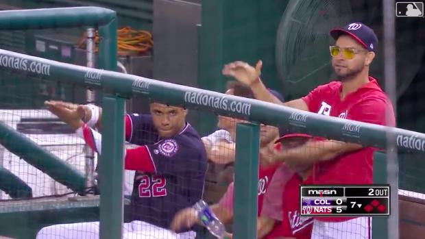 Nationals' Gerardo Parra had the entire ballpark doing the ...