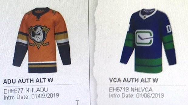new arrival 89bbf 75a98 The Sabres' 50th anniversary third jersey might have leaked ...
