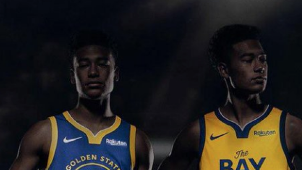 more photos b0bab f2c30 Golden State's new jerseys for the 2019/20 season have ...