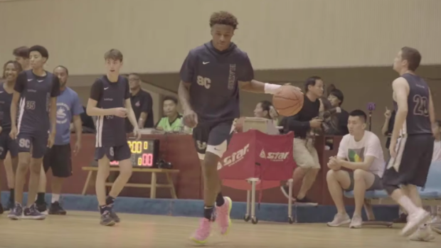 Bronny James and Zaire Wade made their debut as teammates in