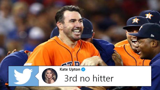 Kate Upton Shared The Most Adorable Tweet After Justin Verlander