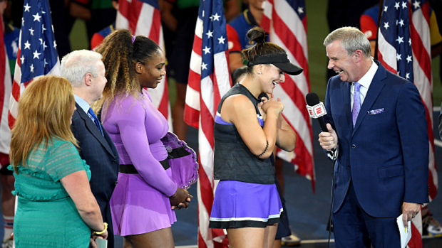 Bianca Andreescu apologized when she won the US Open, and it
