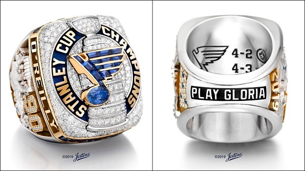 St. Louis Blues Stanley Cup ring